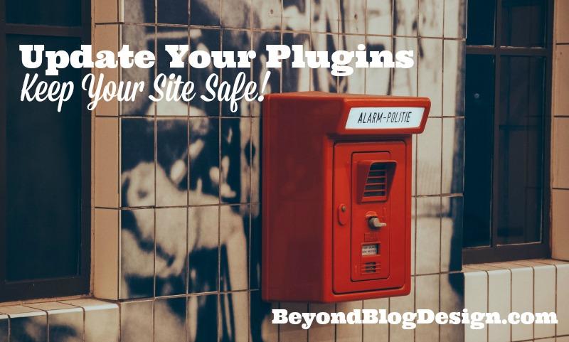 update your plugins